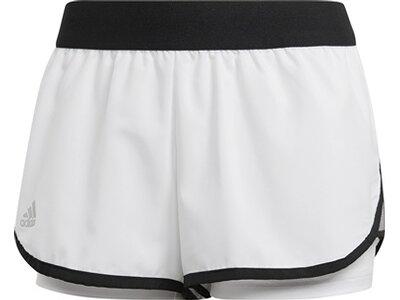 ADIDAS Damen Club Shorts Grau
