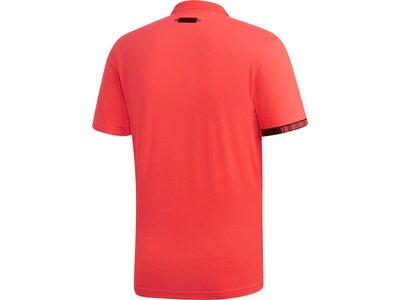 ADIDAS Herren MatchCode Poloshirt Rot