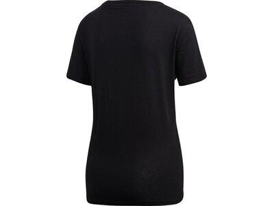 ADIDAS Damen T-Shirt Essentials Linear Schwarz