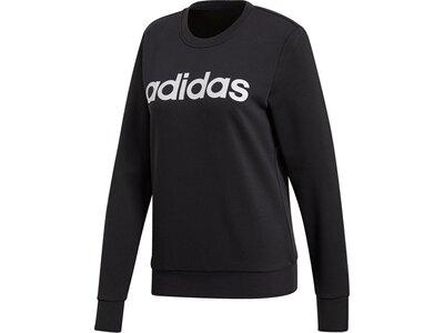 ADIDAS Damen Essentials Linear Sweatshirt Schwarz