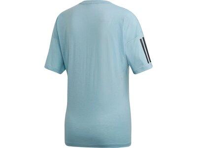ADIDAS Damen T-Shirt Must Haves 3-Streifen Modern Grau