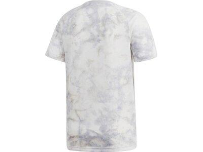 ADIDAS Herren T-Shirt ID Spray Dye Grau