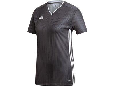 ADIDAS Fußball - Teamsport Textil - Trikots Tiro 19 Trikot kurzarm Damen Grau