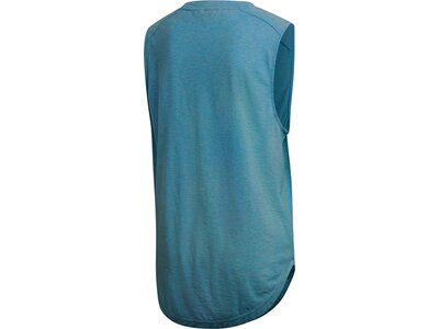 ADIDAS Damen Shirt ID Winners Muscle Blau