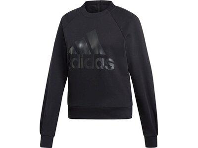 ADIDAS Damen ID Glory Sweatshirt Schwarz