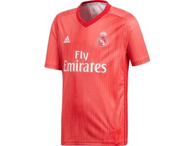 "ADIDAS Kinder Fußballtrikot ""Real Madrid 3rd Jersey Youth"" Kurzarm Rot"