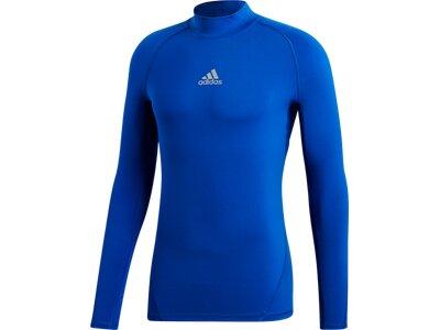 adidas Herren Alphaskin Sport Climawarm Longsleeve Blau