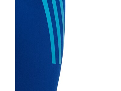 ADIDAS Kinder Pro 3-Streifen Jammer-Badehose Blau