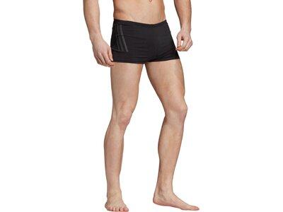 ADIDAS Herren Pro 3-Streifen Boxer-Badehose Schwarz