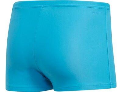ADIDAS Herren Logo Boxer-Badehose Blau