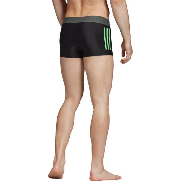 ADIDAS Herren 3-Streifen Colorblock Boxer-Badehose