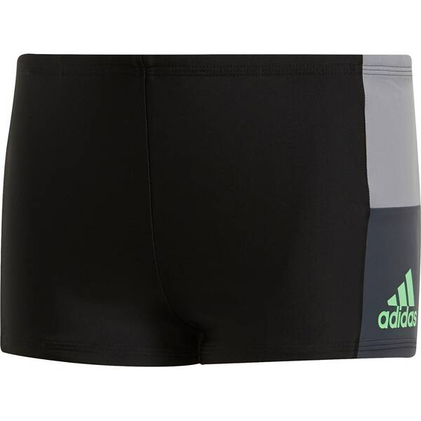 ADIDAS Kinder Fitness Colorblock Boxer-Badehose