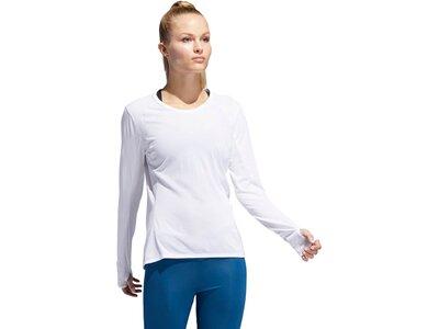 ADIDAS Damen Supernova T-Shirt Blau