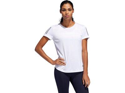 "ADIDAS Damen Laufshirt ""Own the Run Tee"" Schwarz"