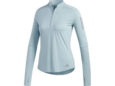 ADIDAS Damen Own the Run Longsleeve Silber