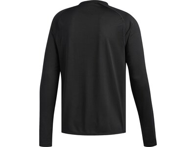 ADIDAS Herren Langarmshirt FreeLift Sport Solid Badge of Sport Schwarz