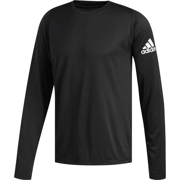 ADIDAS Herren Langarmshirt FreeLift Sport Solid Badge of Sport