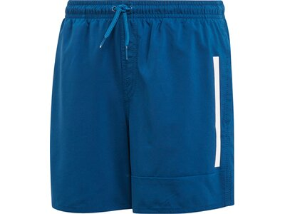 ADIDAS Kinder Badge of Sport Badeshorts Blau