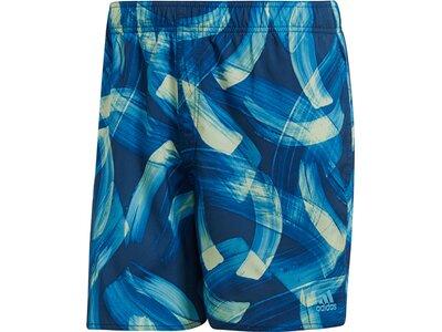 ADIDAS Herren Parley Allover Print Shorts Braun