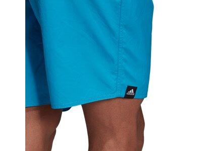 ADIDAS Herren 3-Streifen Badeshorts Blau