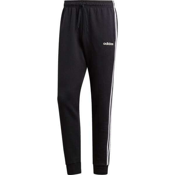 ADIDAS Herren Essentials 3-Streifen Tapered Cuffed Hose