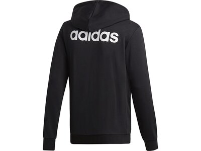 ADIDAS Herren Kapuzensweat Essentials Linear French Terry Schwarz
