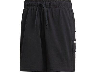ADIDAS Herren Essentials Linear Single Jersey Shorts Schwarz