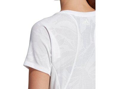 ADIDAS Damen T-Shirt Aeroknit Grau