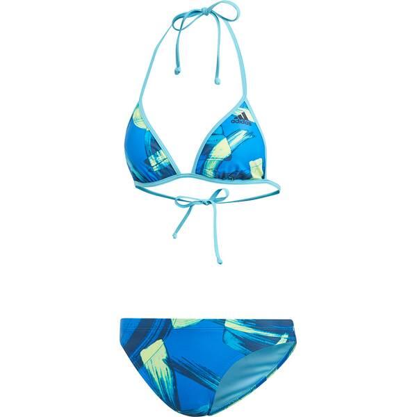 Bademode - ADIDAS Damen Parley Beach Bikini › Blau  - Onlineshop Intersport