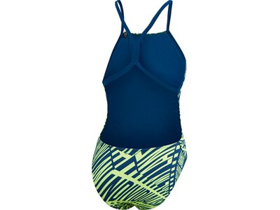 ADIDAS Damen Pro Light Graphic Badeanzug Blau