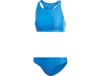 ADIDAS Damen 3-Streifen Bikini Blau