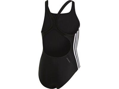 ADIDAS Damen Athly V 3-Streifen Badeanzug Schwarz