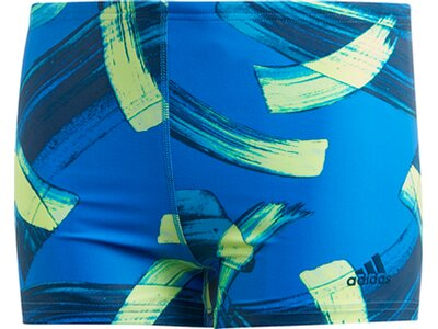 ADIDAS Kinder Parley Boxer-Badehose Blau