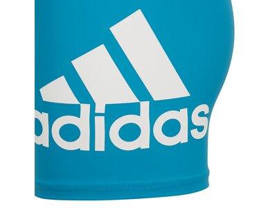 ADIDAS Kinder Badge of Sport Boxer-Badehose Blau