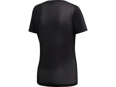 ADIDAS Damen T-Shirt Design 2 Move Logo Schwarz