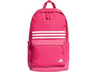 ADIDAS Classic 3-Streifen Pocket Rucksack Pink