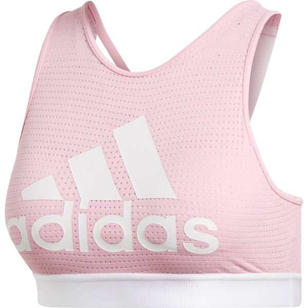 ADIDAS Damen Logo Halter Sport-BH 2.0