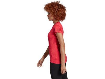 ADIDAS Damen Shirt Tivid Rot
