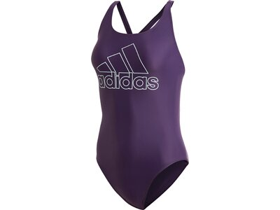 ADIDAS Damen Athly V Logo Badeanzug Lila