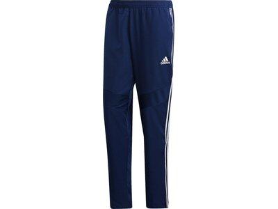 ADIDAS Fußball - Teamsport Textil - Hosen Tiro 19 Woven Pant Dunkel Blau