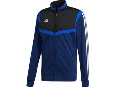 ADIDAS Herren Tiro 19 Polyester Jacke Blau