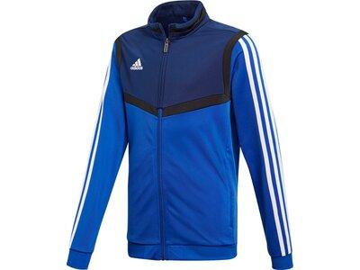 ADIDAS Kinder Tiro 19 Polyester Jacke Blau