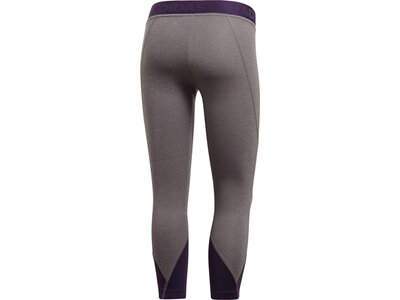 ADIDAS Damen Alphaskin Sport 2.0 Graphic 3/4-Tight Grau