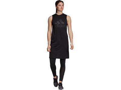 ADIDAS Damen Sport ID Kleid Blau