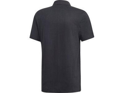 ADIDAS Herren Must Haves Plain Poloshirt Grau