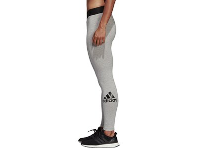 ADIDAS Damen Must Haves Badge of Sport Tight Grau