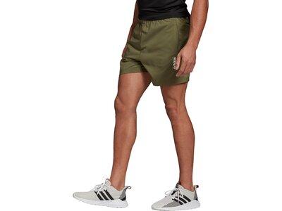 ADIDAS Herren Essentials Plain Chelsea Shorts Grün