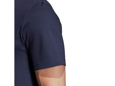 ADIDAS Herren T-Shirt Essentials Linear Logo Grau