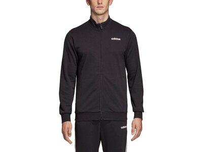 ADIDAS Herren Essentials Linear Trainingsjacke Schwarz