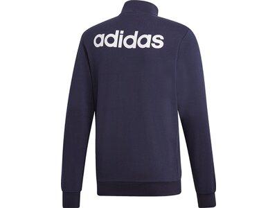 ADIDAS Herren Essentials Linear Trainingsjacke Grau